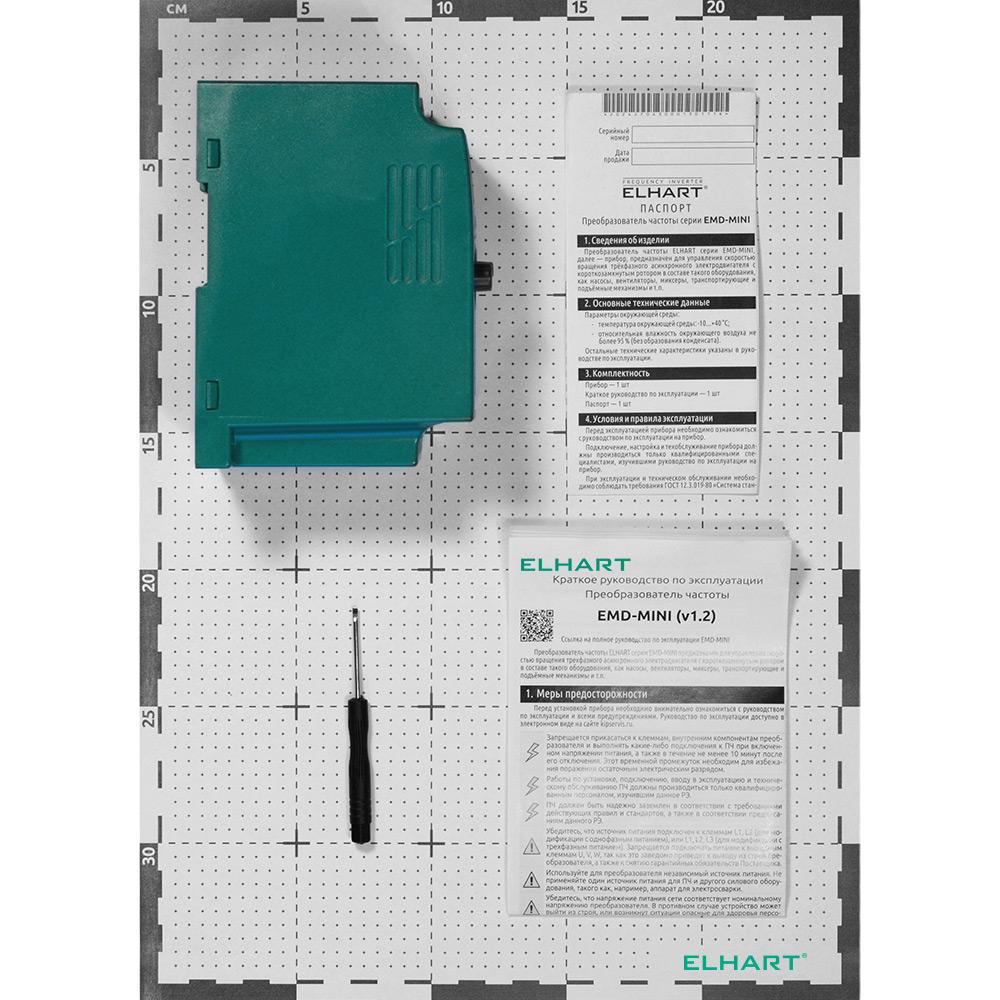 Преобразователь частоты ELHART EMD-MINI – 022 S