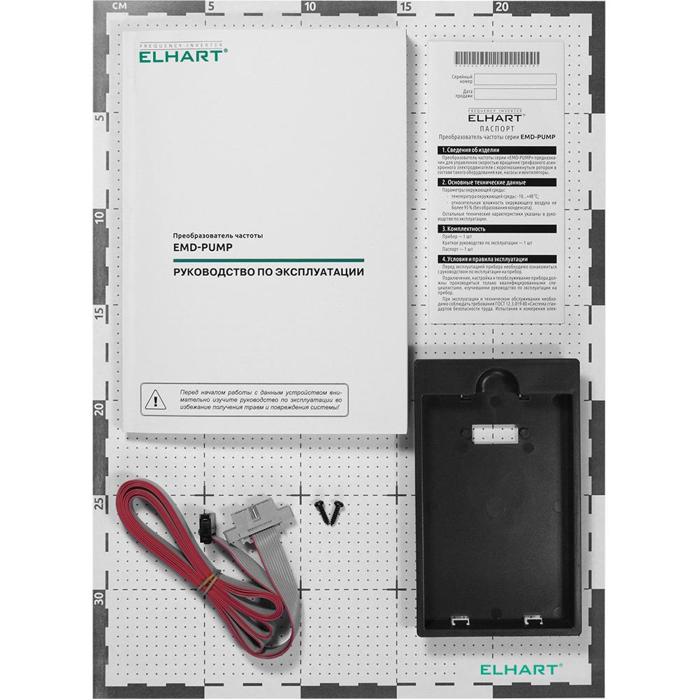 Преобразователь частоты ELHART EMD-PUMP — 0037 T