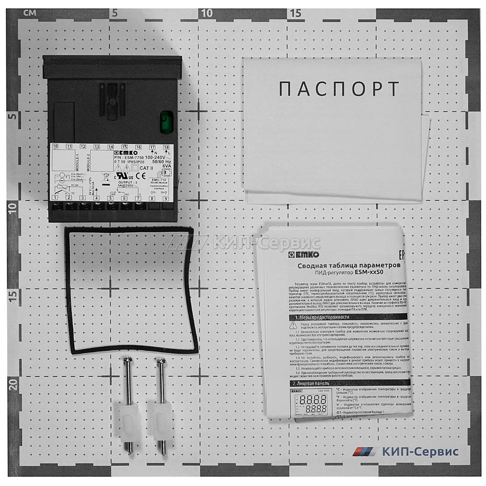 ПИД-регулятор ESM-7750.1.20.2.1_00.00_0.0.0.0