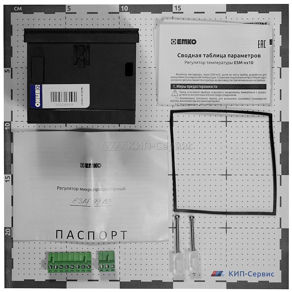 Измеритель-регулятор температуры ESM-9910.05.09.0.1_01.00_2.0.0.0