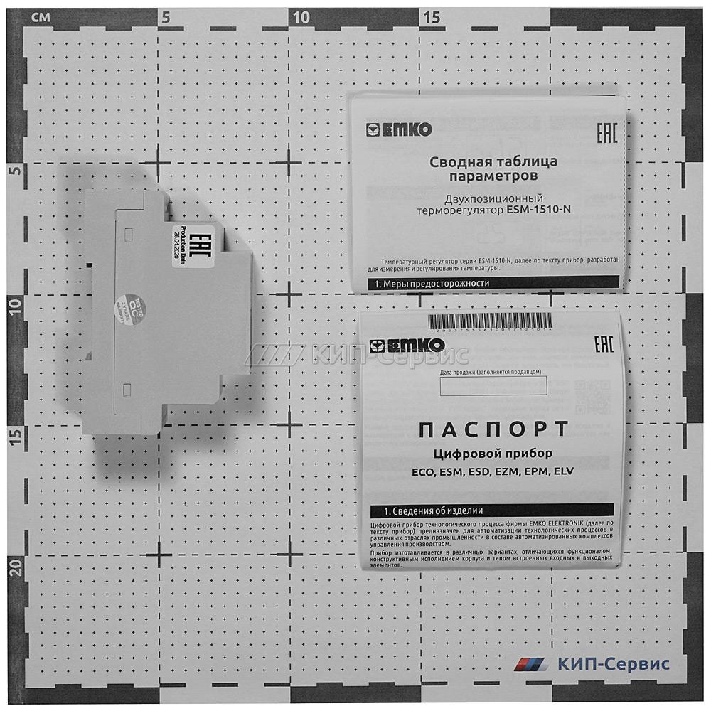 Измеритель-регулятор температуры ESM-1510-N.5.09.0.1_00.00_2.0.0.0