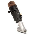 """Клапан запорно-регулирующий с позиционером D,  нерж., (2/2, 1""""(25мм), вода 0-10 бар, пар 0-10 бар, 4-20мА, при откл. питания-закр.)"""