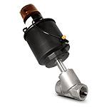 """Клапан запорно-регулирующий с позиционером D,  нерж., (2/2, 1 1/2""""(40мм), вода 0-16 бар, пар 0-10 бар, 4-20 мА, при откл.питания-закр.)"""