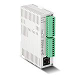 Контроллер (серия SS2) 8 вх. (NPN/PNP, 4 по 20кГц/4 по 10кГц)/6 вых. (реле 1,5А), =24VDC, макс 480вх/вых, 8К, COM1(RS-232)/COM2(RS-485)