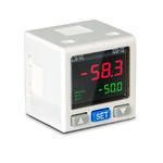 """Датчик давления с индикатором, -1...+10 бар, точность 3%, соед. G1/8"""" наруж., вых.:2хNPN + 1…5В"""