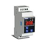 Измеритель-регулятор температуры, DIN рейка (вход Pt100 (-19,9...+99,9 C, 2-х пров.), выход: реле (НО+НЗ, 5А), питание 230 VAC, кл. 1)