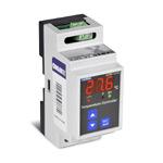 Измеритель-регулятор температуры, DIN рейка (вход J (ЖК) (0...+800 C), выход: реле (НО+НЗ, 5А), питание 230 VAC, кл. 1)