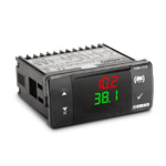 Регулятор температуры и влажности для инкубаторов, 77x35 (2 входа: влажность (0…100%) 0...10В, температура (-20…80С) 0...10В ; 4 выхода: 1 выход реле (НО+НЗ, 5А), 3 выхода реле (НО, 3А), питание 230 VAC, кл. 1)