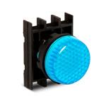Сигнальная арматура синего цвета B000XM