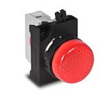 Сигнальная арматура красного цвета 12-30 В AC/DC IP 65