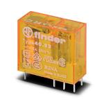 Finder / Реле с 2-мя перекидными контактами ~24В AC,  8А