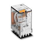 Finder / Реле  с 4-мя перекидными контактами ~110В AC, 7А