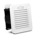 Finder / Вентилятор с фильтром для электрических щитов, замена 7F.50.8.230.1020 (размер 1, 114х114мм, 230VAC, 24м3/ч, 13Вт, IP54)