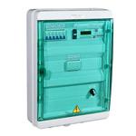 Шкаф управления ИТП (версия с контакторами; ОТОП: КЗР+2 насоса ~220В до 1кВт; ГВС: КЗР+1 насос ~220В до 1кВт; ПОДПИТКА: 1 насос ~220В до 1кВт; датчики pt1000; пит. ~220В; 448х460х160мм; RS-485)