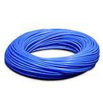 Пневмотрубка D=6x4, полиуретан PUR 1190 износостойкий, до 11 бар при 20С, бухта 100м, цвет светло-синий