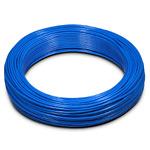 Пневмотрубка D=10х7 полиуретан PU 98, до 12 бар при 20С, бухта 100м, цвет голубой