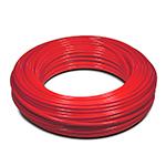 Пневмотрубка D=10x8, рилсан PA12 LLH, до 15 бар при 20С, бухта 100м, цвет красный