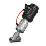 Клапан запорно-регулирующий с позиционером, нерж., резьбовой 2/2 НЗ, G 1