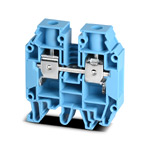 Клеммник AVK16 RD 16мм2 (1,5…16 мм2, рабочее напряжение до 750В, рабочий ток до 76А, синий)
