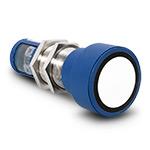 Ультразвуковой датчик, рабочая зона (350…3400 мм), макс. расстояние 5000 мм, М30х1,5, выход 4…20 mA/0..10В, LED-дисплей, требуется разъем 5 pin М12х1