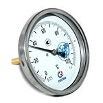 Термометр биметаллический (осевой) БТ-51.х11-100/  100мм, d=100 мм, с гильзой 100мм, (0..+120)С, G1/2, кл 1,5