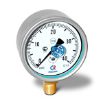 Манометр низкого давления (напоромер) КМ-22Р, (0-40)кПа, G1/2 кл.1,5