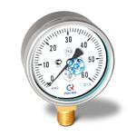 Манометр низкого давления (напоромер) КМ-22Р, (0-60)кПа, G1/2 кл.1,5
