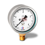 Манометр низкого давления (напоромер) КМ-22Р, (0-4)кПа, G1/2 кл.1,5