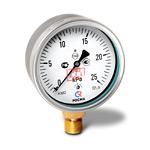 Манометр низкого давления (напоромер) КМ-22Р, (0-25)кПа, G1/2 кл.1,5