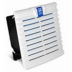 Вентилятор TopTherm в комплекте с фильтрующей прокладкой (204х204мм, воздушный поток 105 м3/ч, 220 VAC, IP54)