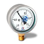 Мановакуумметр низкого давления (тягонапоромер) КМВ-22Р, (-1...+1,5)кПа, G1/2 кл.1,5