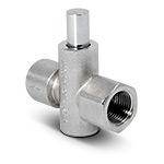 Клапан запорный кнопочный VE2-2-G1/2