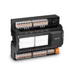 Modbus-модуль ввода/вывода; 16аналог.вх.(универс., 12 бит); 8вых.(реле 5А); COM1 (RS-485, Modbus RTU); COM2 (RS-485, ModbusRTU, сист.шина MRBus II); порт расш.MRL; конфигурация по USB; =/~24В