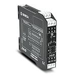 Модуль ввода-вывода дискретных сигналов; 6 входов, 2 релейных выхода 5А 230В; Выход RS-485; Питание 19..40В