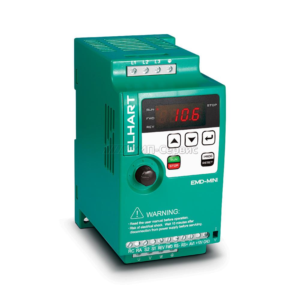 Преобразователь частоты ELHART EMD-MINI-004 S