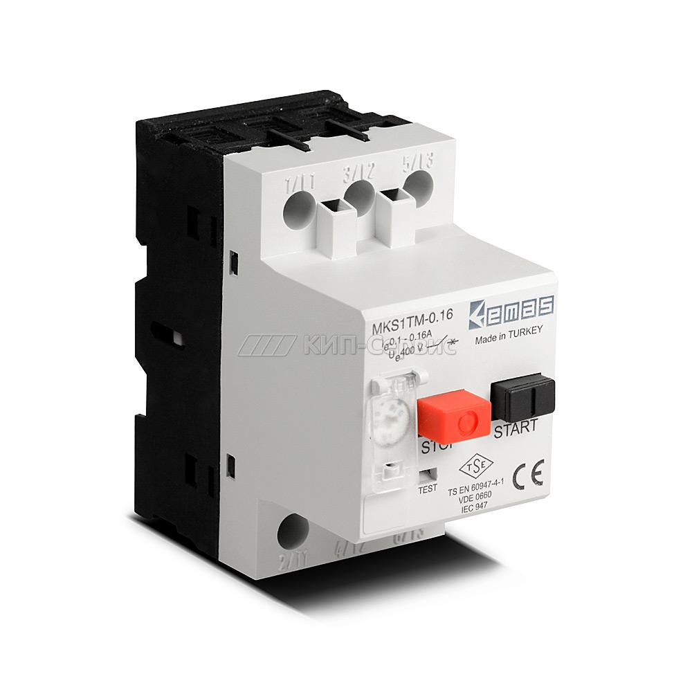 Автомат защиты двигателя MKS1TM-0.16