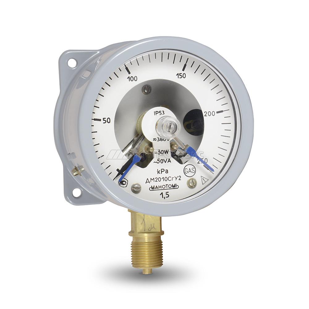 Электроконтактный манометр ДМ2010 СГ(0…250кПа)