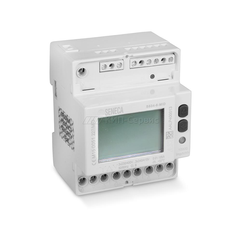 S534-6-MID Трехфазный счетчик электроэнергии