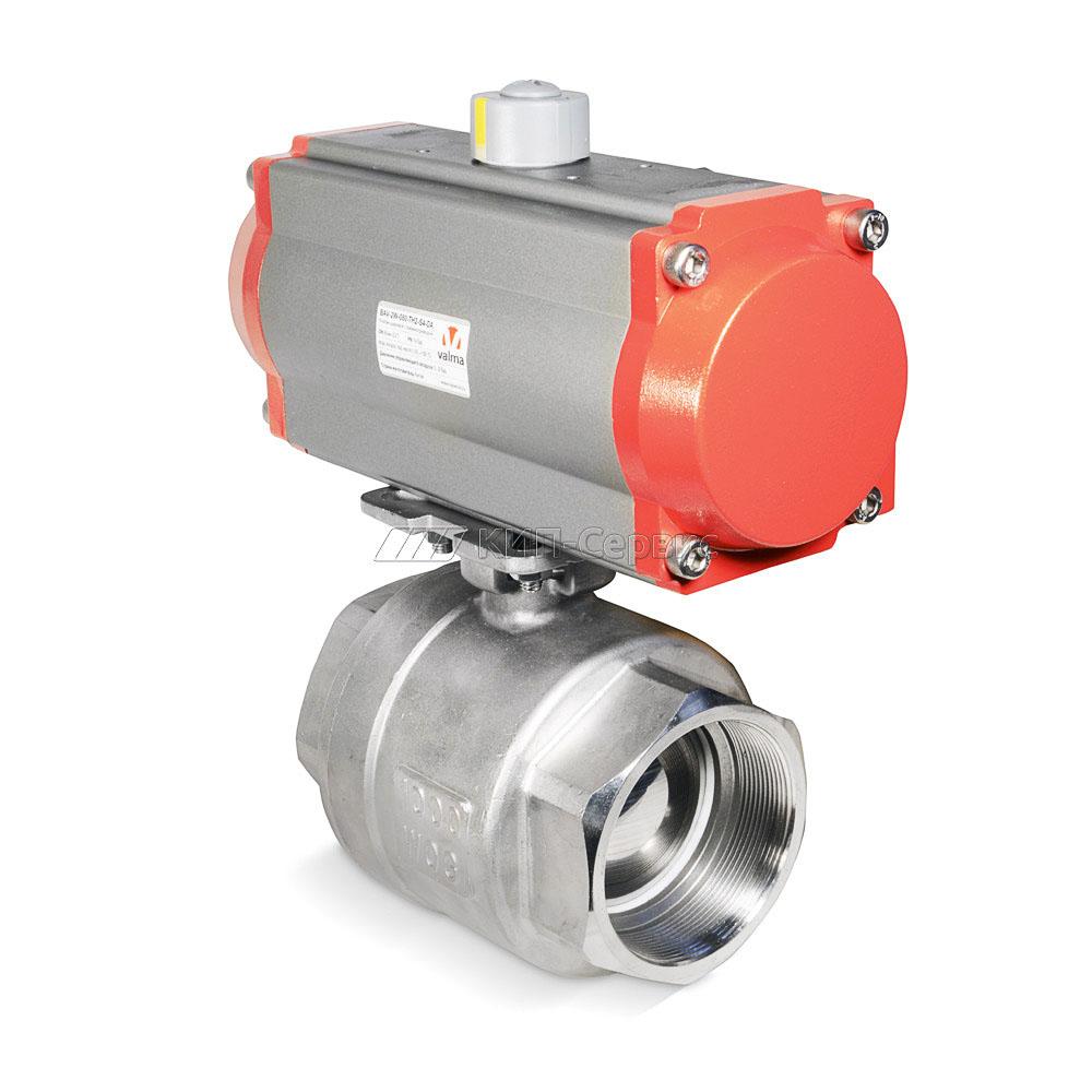 Клапан шаровой с пневмоприводом BAV-2W-080-TH2-S4-DA