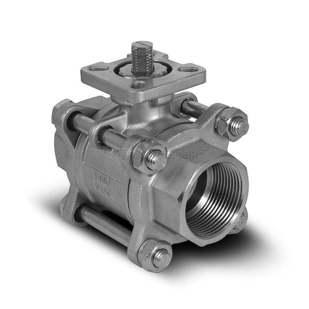 Клапан шаровой BAV-S316-3P-T-032