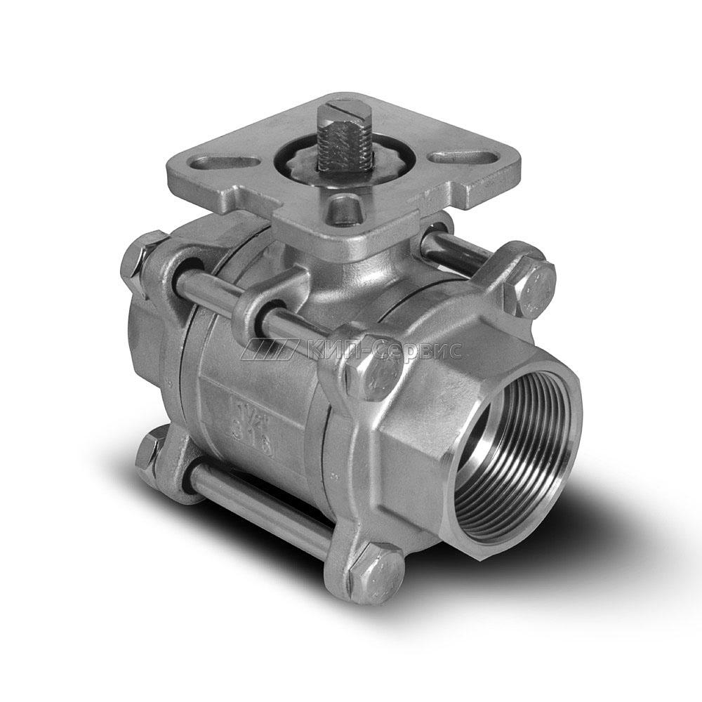 Клапан шаровой BAV-S316-3P-T-040