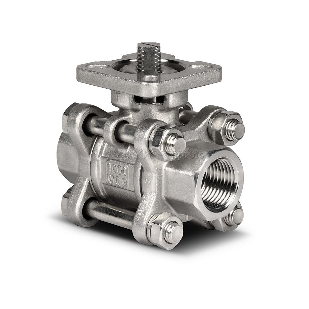 Клапан шаровой BAV-S316-3P-T-015