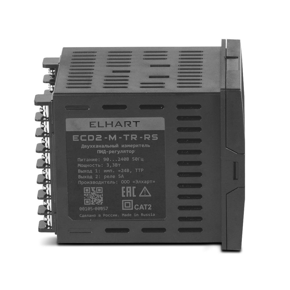 ПИД-регулятор 2-х канальный ECD2-M-TR-RS
